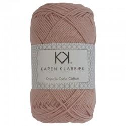 8/4 Dark Old Rose - KK Organic Color Cotton økologisk bomuldsgarn fra Karen Klarbæk