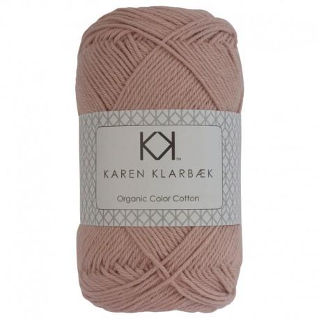 Dark Old Rose - KK Color Cotton økologisk bomuldsgarn fra Karen Klarbæk