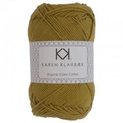 8/4 Mustard - KK Organic Color Cotton økologisk bomuldsgarn fra Karen Klarbæk