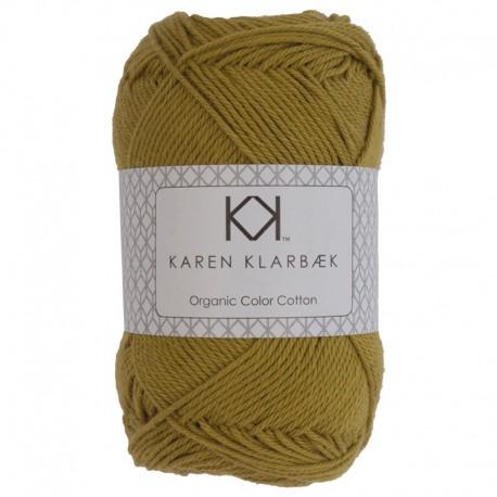 Mustard - KK Color Cotton økologisk bomuldsgarn fra Karen Klarbæk