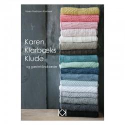 """Strikkebog """"Karen Klarbæks Klude - og gæstehåndklæder"""" - TRYKT BOG"""
