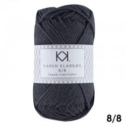 Night Shadow 8/8 - KK Organic Color Cotton økologisk bomuldsgarn fra Karen Klarbæk
