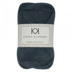 Dark Marine 8/4 - KK Organic Color Cotton økologisk bomuldsgarn fra Karen Klarbæk