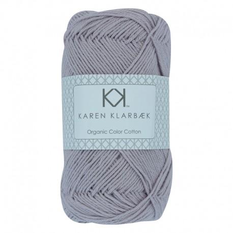 8/4 Soft Lilac - KK Organic Color Cotton økologisk bomuldsgarn fra Karen Klarbæk