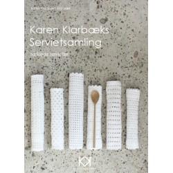 """Hæklebog """"Karen Klarbæks Servietsamling"""" - TRYKT BOG"""