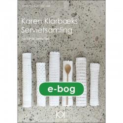 """Hæklebog """"Karen Klarbæks Servietsamling"""" - E-BOG"""