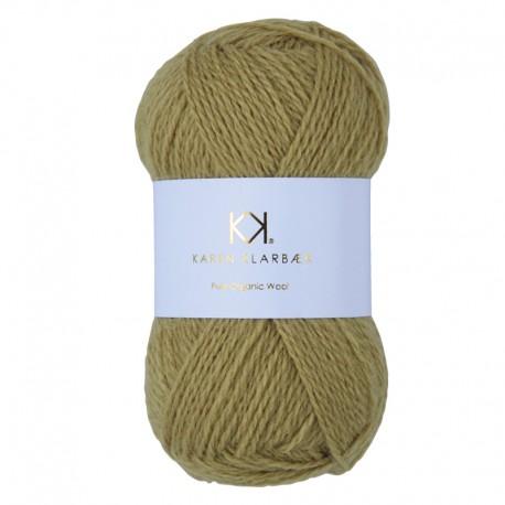 Wheat Yellow - KK Pure Organic Wool - økologisk uldgarn fra Karen Klarbæk