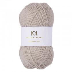 Light Sand - KK Pure Organic Wool - økologisk uldgarn fra Karen Klarbæk