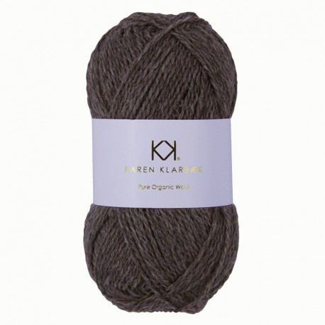 Sandbrown Melange - KK Pure Organic Wool - økologisk uldgarn fra Karen Klarbæk