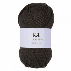 Brown Melange - KK Pure Organic Wool - økologisk uldgarn fra Karen Klarbæk