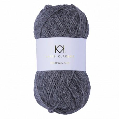 Grey Melange - KK Pure Organic Wool - økologisk uldgarn fra Karen Klarbæk