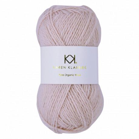 Pale Skin - KK Pure Organic Wool - økologisk uldgarn fra Karen Klarbæk