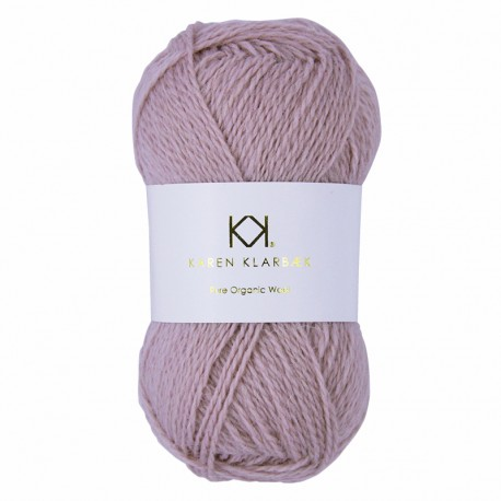 Old Rose - KK Pure Organic Wool - økologisk uldgarn fra Karen Klarbæk