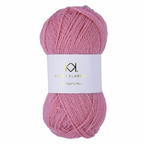 Flamingo - KK Pure Organic Wool - økologisk uldgarn fra Karen Klarbæk