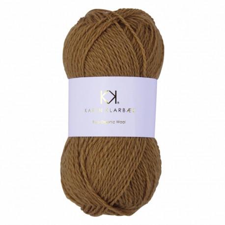 Golden Brown - KK Pure Organic Wool - økologisk uldgarn fra Karen Klarbæk