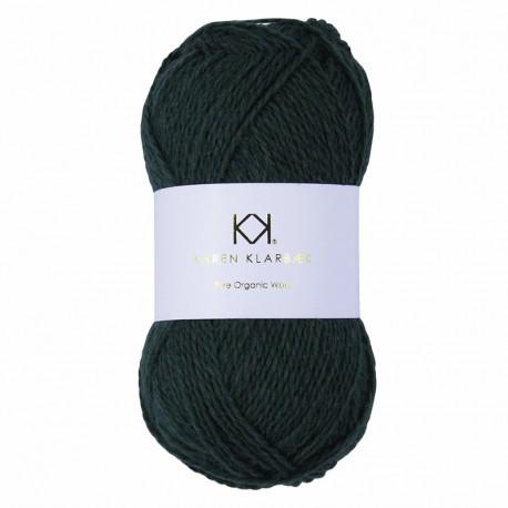 Bottle Green - KK Pure Organic Wool - økologisk uldgarn fra Karen Klarbæk